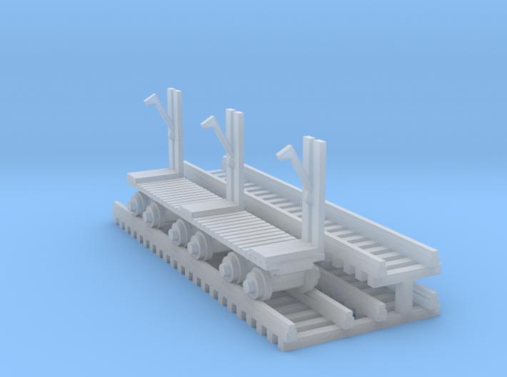 Log Mover - N 160:1 ScaleLogMover+Log 3d printed