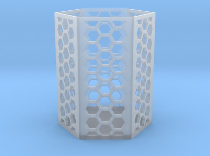 Large Honeycomb Pen Holder (Ver.2) 3d printed