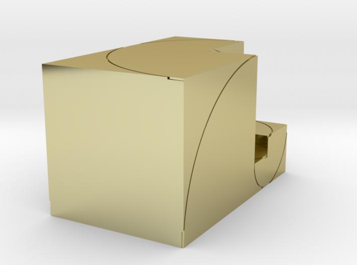 CCW Golden Rectanglular Box 3d printed