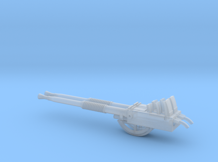 Twin Bofor Gun Assembly 1/35 3d printed