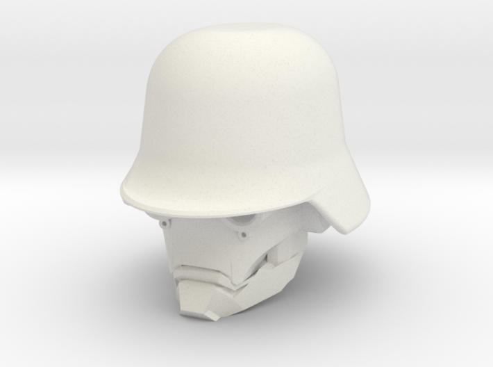 """Iron Skull"" custom 1:6th scale head 3d printed"