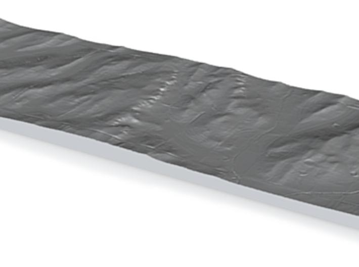 Model of Spring Creek 3d printed