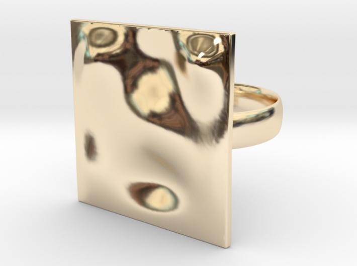 Deep OCEAN Ring 3d printed