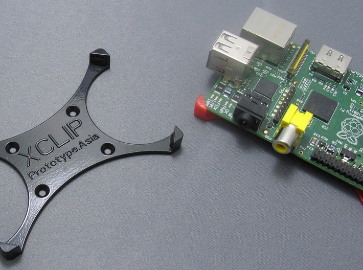 XCLIP - Raspberry Pi Mounting Solution 3d printed