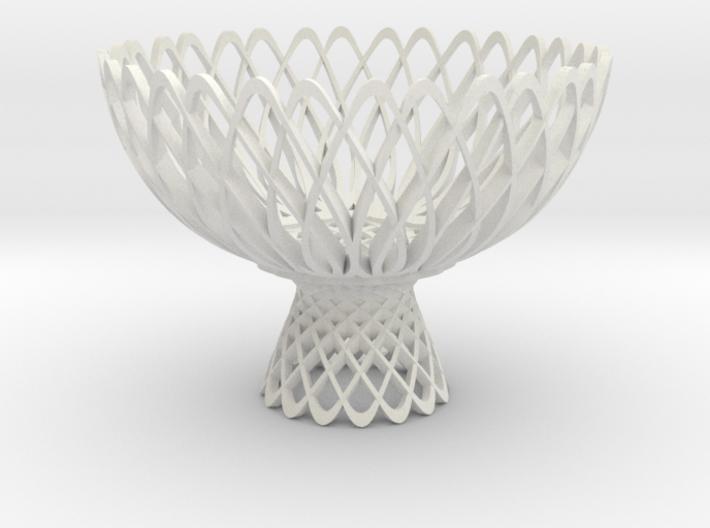 Lotus Bowl 3d printed