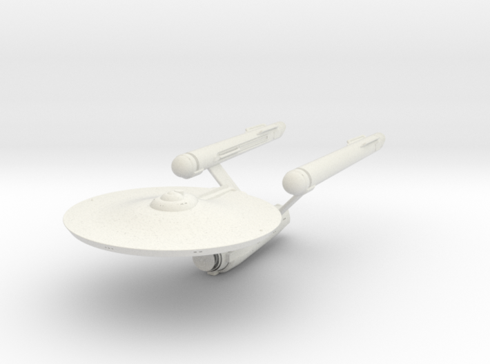 Old Enterprise With Open Bay 3d printed