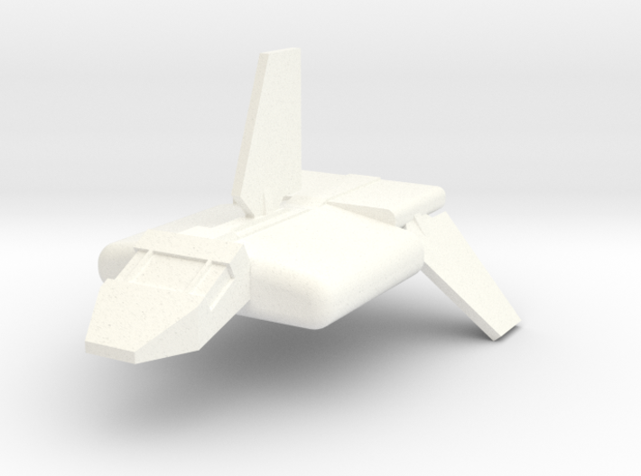 Imperial Transport Shuttle 3d printed