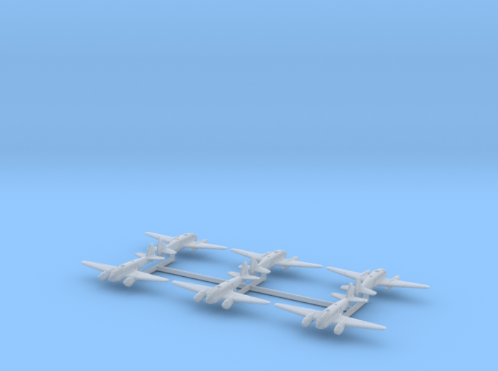 Caproni Ca.313 (In flight) 1/700 3d printed