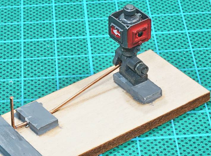 Catch Point Indicator 7mm Scale X 2 3d printed