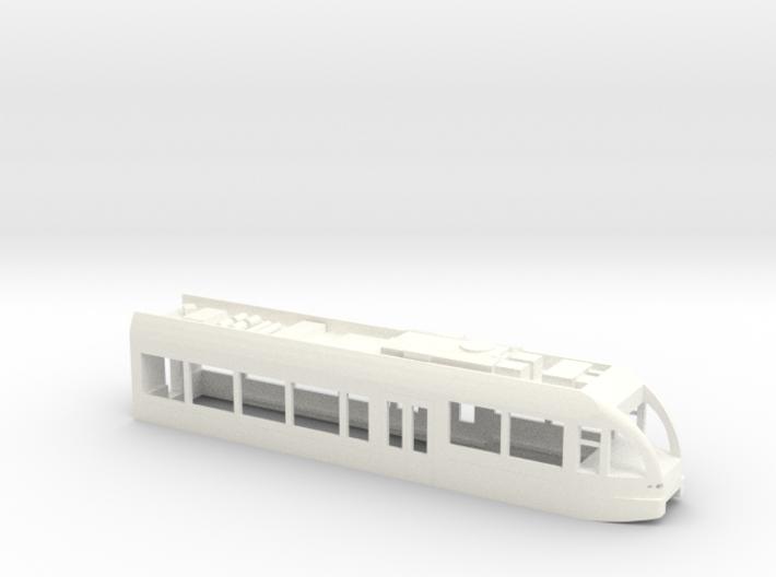 GTW Steuerwagen Scale TT Version2 mit Dachausrüs 3d printed