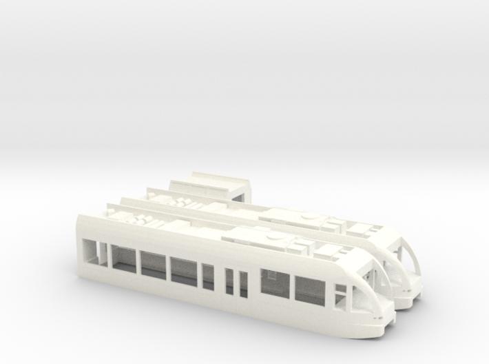 SBB BLS THURBO GTW Zweiteilig Scale TT Version2 Lo 3d printed
