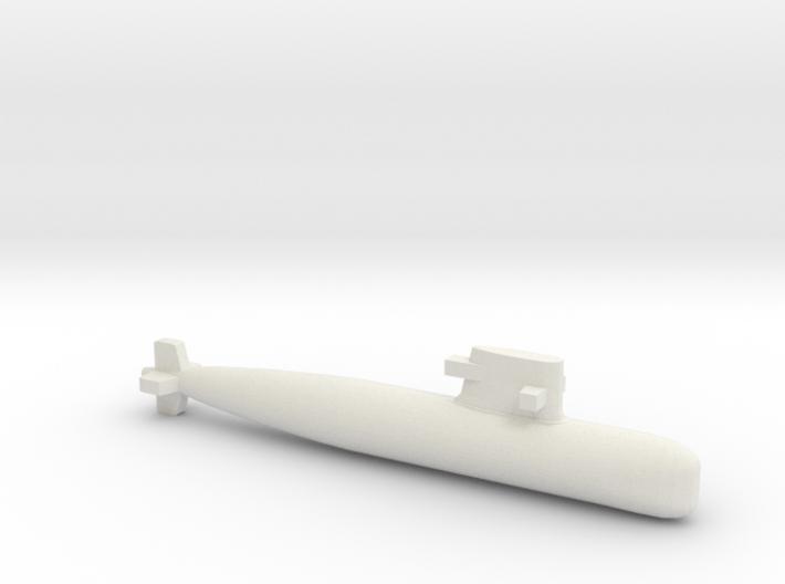 PLA[N] 039G Submarine, Full Hull, 1/2400 3d printed