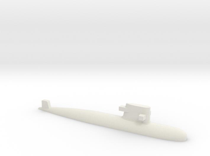 PLA[N] 039G Submarine, 1/2400 3d printed