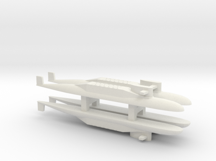 PLA[N] 094 SSBN x 4, 1/2400 3d printed