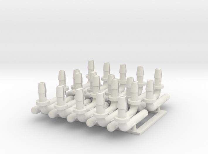 PH4APTBP10 Hornby APT Bogie Pivot/Tilt Pins 3d printed