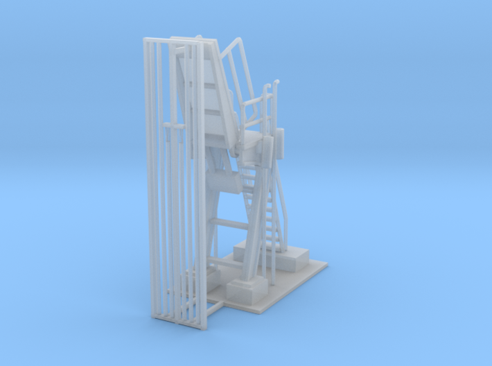 Propane Loader Station Z Scale 3d printed