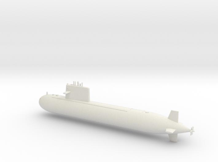 1/600 Type 091 Submarine 3d printed