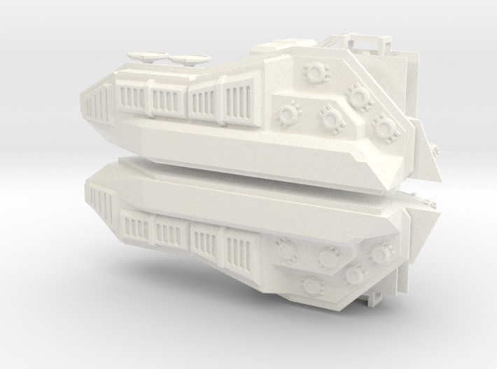 28mm Hover Tank Conversion Kit Both Sides 3d printed