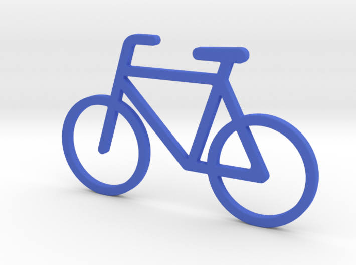 Pendant 'Little Bicycle' 3d printed