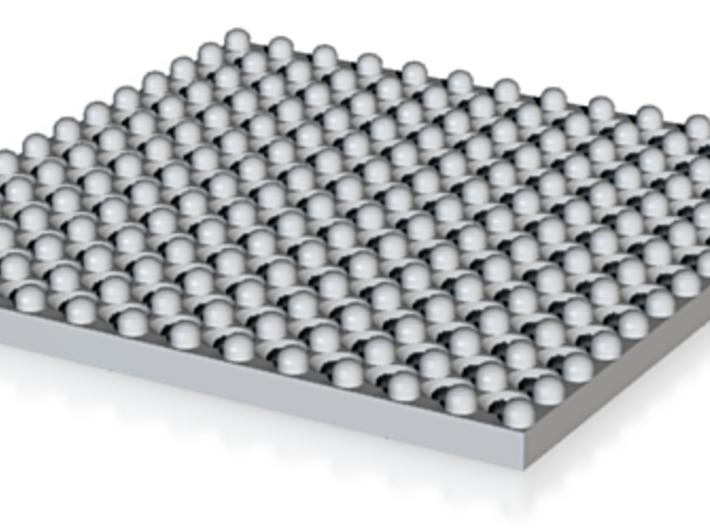 Pendent393 Pave Grid RStone1.75 Pkaanddesigns(1) 3d printed