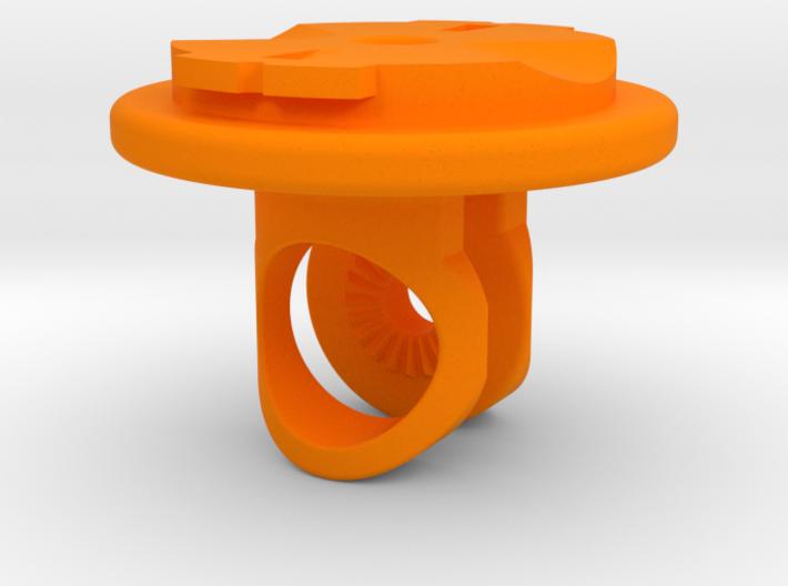 Virb / Garmin Quarter-turn Adapter Mount 3d printed