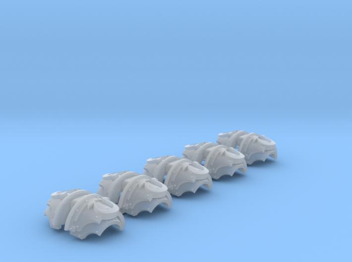Ultra Legion 2 - T:2a Cataphractii Shoulder Sets 3d printed