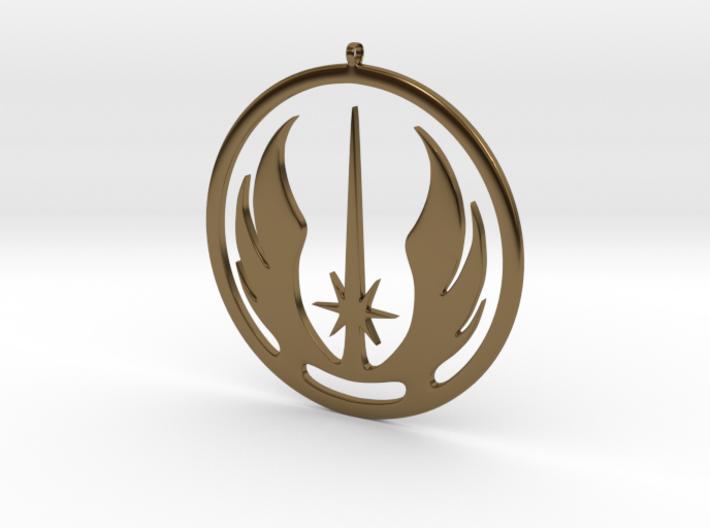 Symbol of the Jedi Order 3d printed