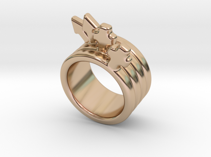 Love Forever Ring 26 - Italian Size 26 3d printed