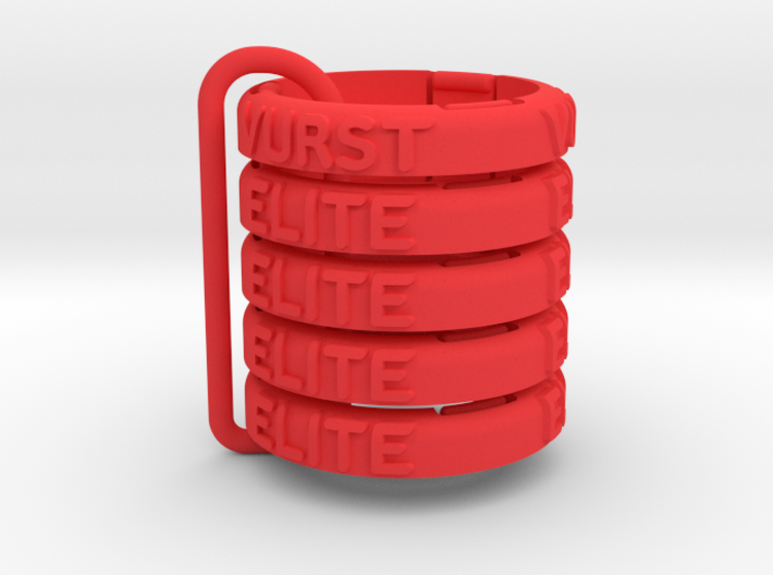 """Snap-on base """"elite""""+""""vurst"""" (5 pcs) - M&M 3d printed"""
