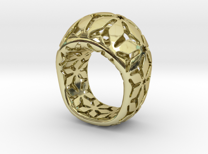 star ring size 7 3d printed