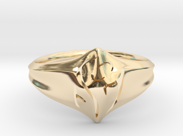 Mom Ring 3d printed