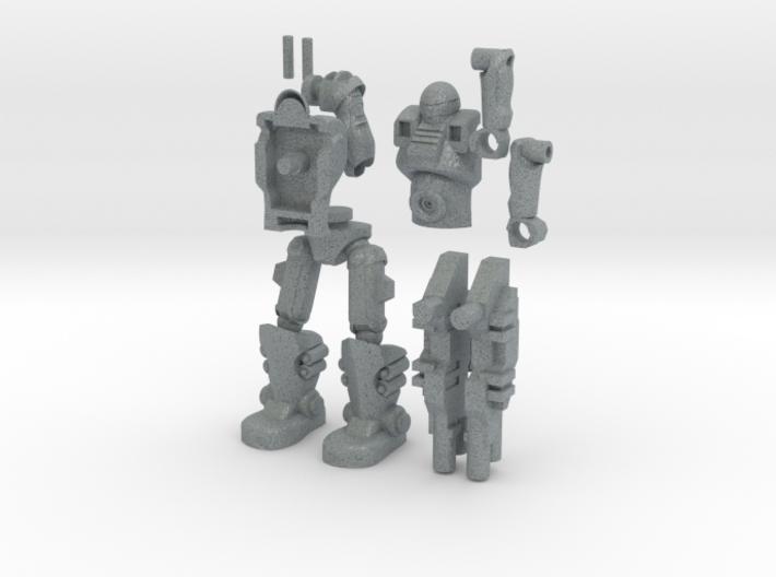 Sci Fi Trooper_2.5inches 3d printed