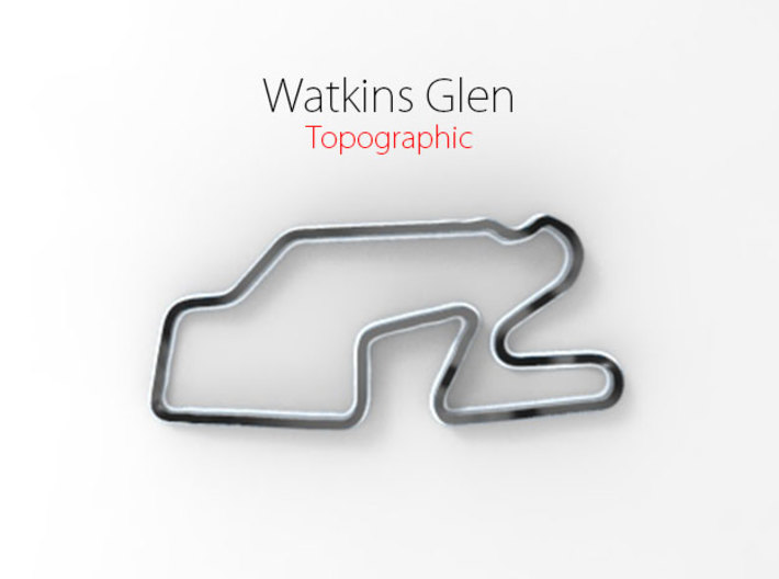 Watkins Glen - Full Size 3d printed