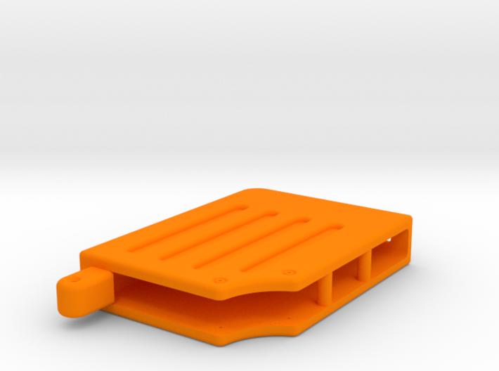 Prop Holotape, Orange Part, 2 of 2 3d printed
