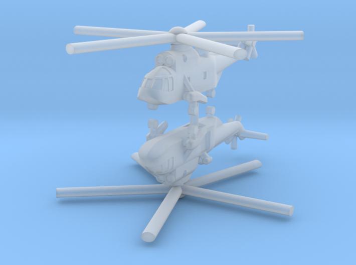 1/400 Sikorsky / Westland Sea King (x2) 3d printed