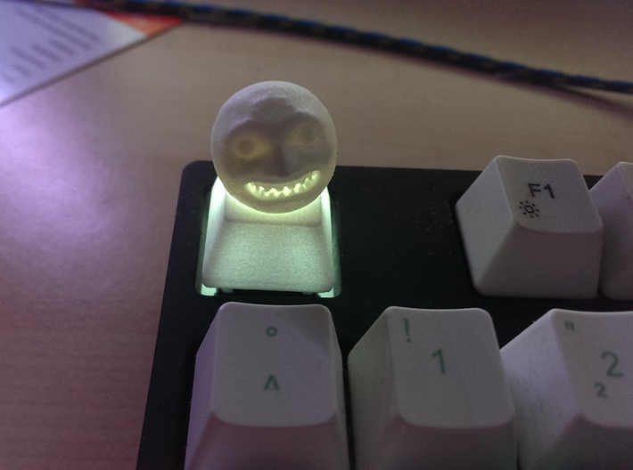 Cherry MX - Keycap - Majora Moon 3d printed With Backlight.