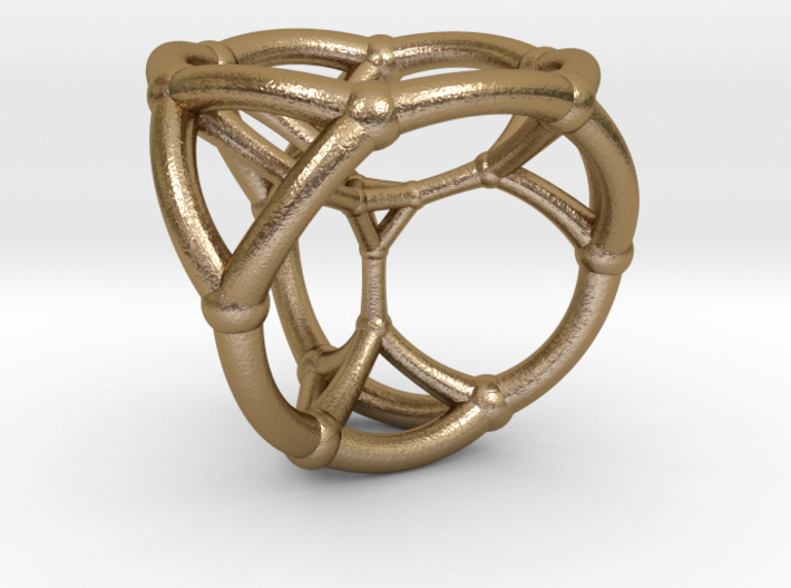 0504 Stereographic Trancated Polychora 16-cell 3d printed