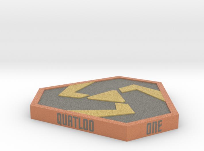 One (01) Quatloo  3d printed