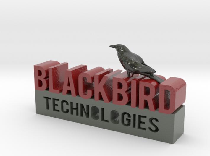 Blackbird Technologies Logo 3d printed
