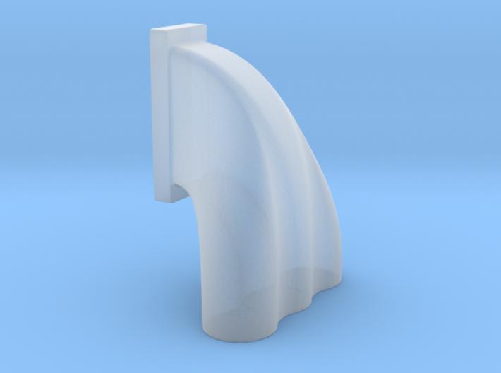 1/64 3 Eq Hole Inj Hat For 14-71 Kobelco Blower 3d printed
