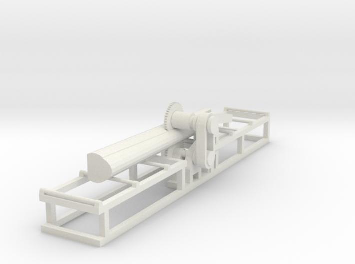Saw1+Log - HO 87:1 Scale 3d printed