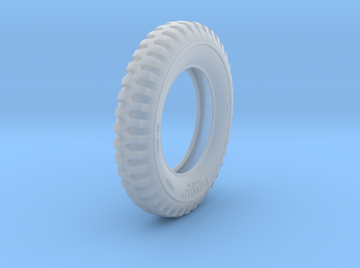 1-16 GMC 750x20 Tire 3d printed