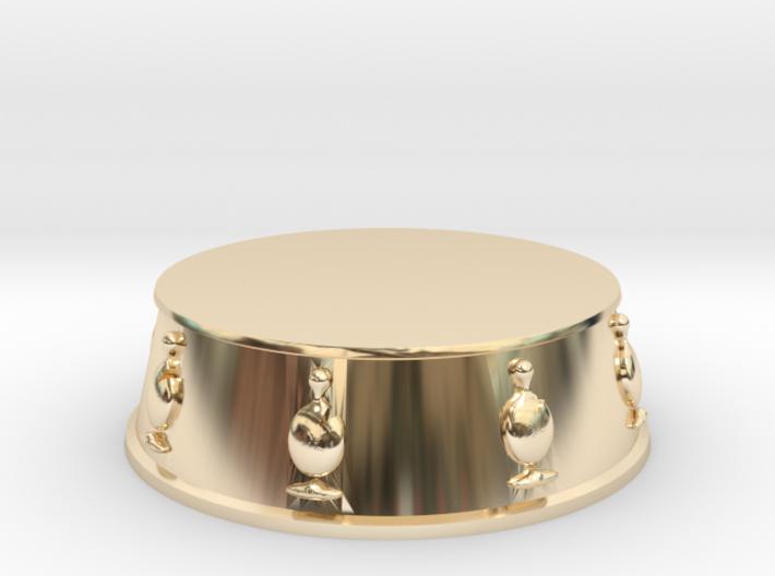 Chess Bishop Base - 1 inch 3d printed
