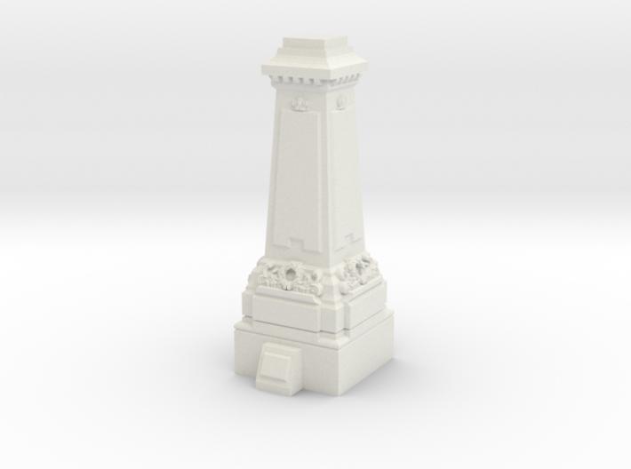 TT Gauge Statue Plinth 3d printed