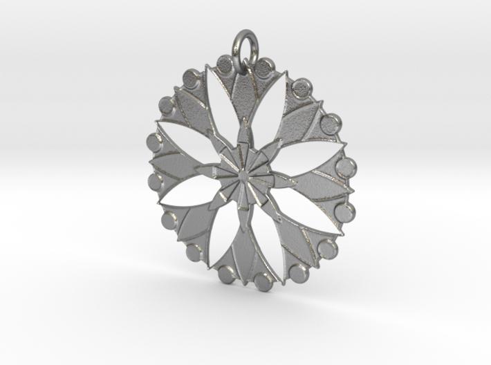 Flower Mandala No. 3 3d printed