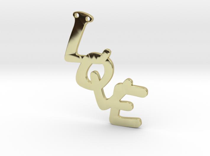 Pendent- Love 3d printed