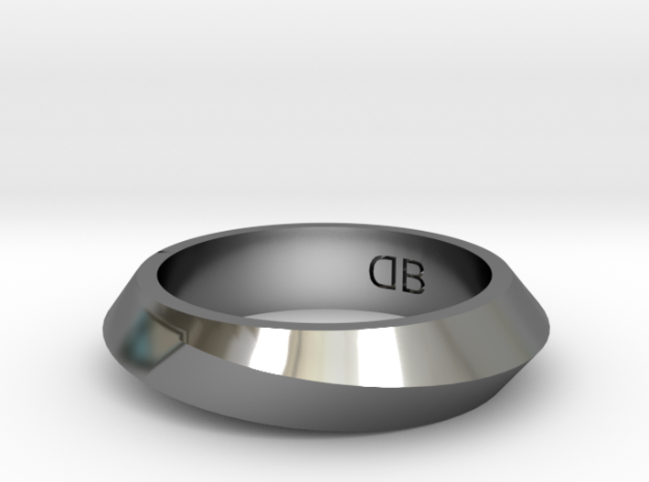 Infinity Ring - Size 6-1/2 3d printed