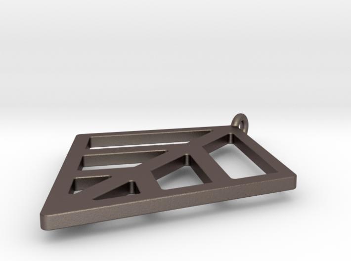 Robust Leaf Keychain 3d printed