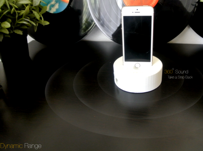 Sonido - WAVE (HQ Acoustic Speaker)  3d printed 360 Dynamic Sound