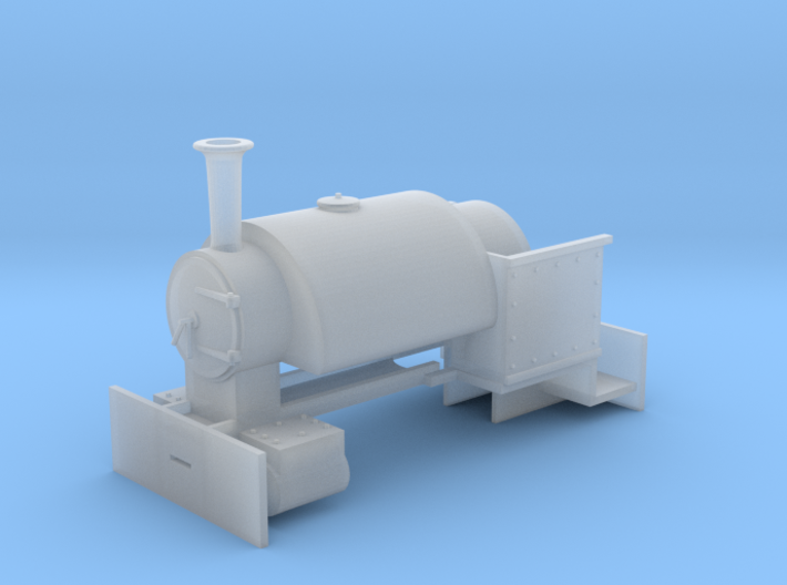 009 Bagnall 'Sybil' Body (4mm scale) 3d printed